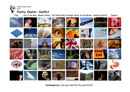 Contemporary Poems Picture Quiz - Conflict Cluster - Differentiated.pdf