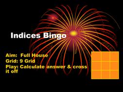 Indices Bingo.ppt