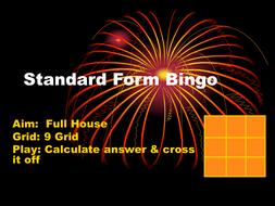 Standard Form Bingo.ppt