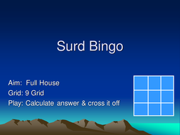 More Number Bingo - Maths Bingo Games - KS3 KS4