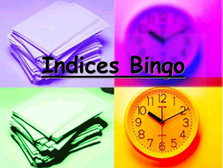 Indices Bingo 2.ppt