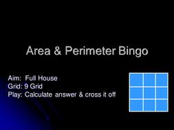 Area Perimeter Bingo.ppt