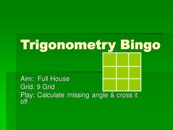 Trigonometry Bingo.ppt