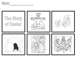 The Easter Story - Sequence the story