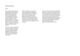 Macbeth Timeline Act 2.doc