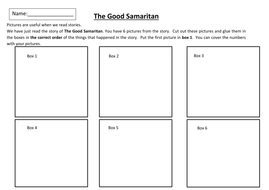 the good samaritan storyboard by michaelgrange teaching resources tes. Black Bedroom Furniture Sets. Home Design Ideas