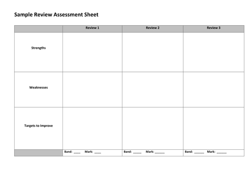 film review assessment criteria target grades by tesenglish film review assessment criteria target grades by tesenglish teaching resources tes