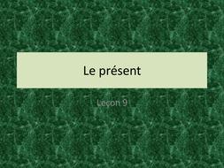 Loisirs - leçon 9 -Le présent aller et faire - JCo.ppt