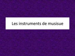 loisirs - leçon 8 - les instruments de musique - JCo.ppt