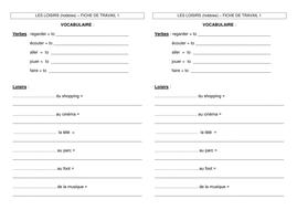 LES LOISIRS worksheet 1 JCo.doc