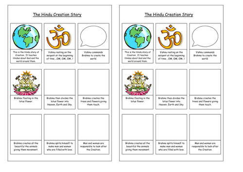 Hinduism SoW and activities An Introduction ks3 by BexMO – Hinduism Worksheet