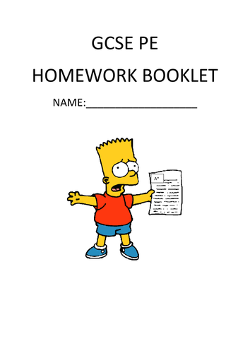 gcse the english language home work sheets