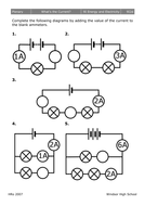 Current Electricity in Series Circuits by mousey80