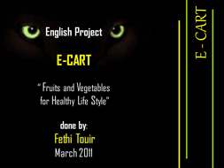 A powerpoint about the importance of vegetables an