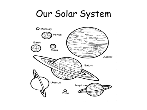 solar system cut out template - photo #26