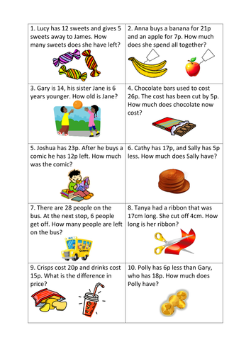 Subtraction Worksheets : subtraction worksheets differentiated ...