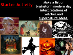 intro lesson - witchcraft.ppt