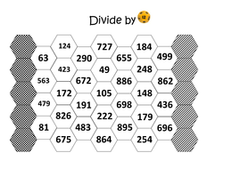 dice game boards 6 divide.docx