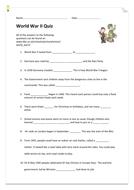 World War II Quiz BBC Schools Website info.docx