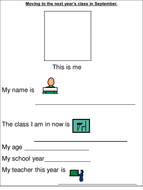 Transition to the next primary class workbook