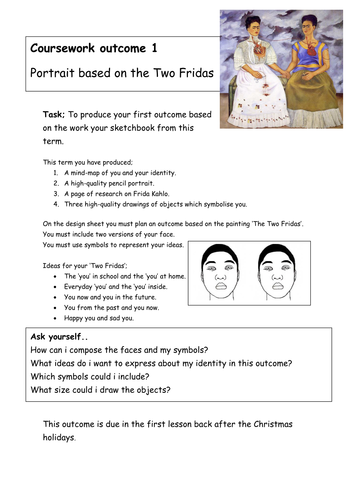 Printables Frida Kahlo Worksheets frida kahlo activityinformation worksheets by slafhaj teaching resources tes