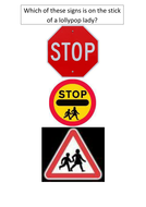 Road Safety and Signs Group Quiz