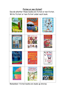 Fiction or Non-Fiction? Worksheet (used with Y3)