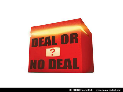 deal or no deal powerpoint game template - deal or no deal interactive by alrightmebabbers
