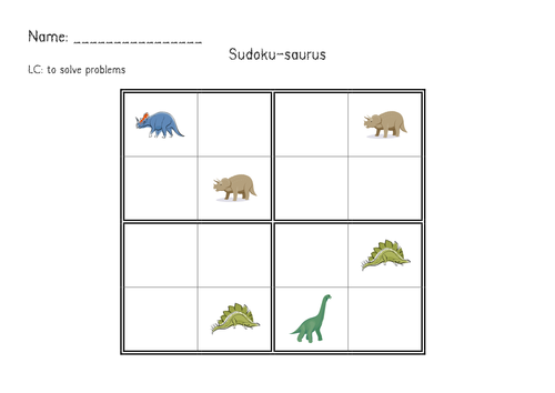 dinosaur maths by renosparks teaching resources tes. Black Bedroom Furniture Sets. Home Design Ideas
