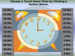 A powerpoint timer for all lessons!