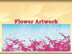 Flower artwork