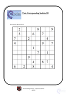 KS4/KS3 Maths Gifted and Talented Worksheets by