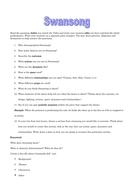 Swansong worksheet.doc
