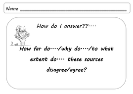 Paper 2 OCR source skills. Revision. GCSE History / IGCSE History