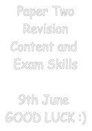 Paper Two Revision workbooklet for pp.docx