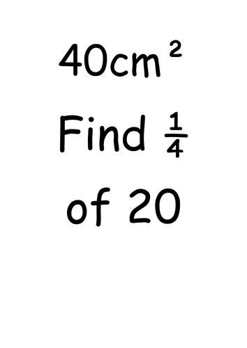 KS2/KS3 Maths Trail revision activity by murphy85