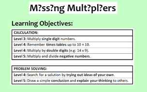 Missing Multipliers.ppt