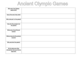 ancient olympics worksheet.doc