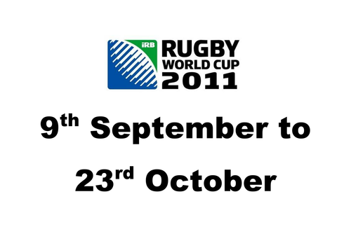 Rugby World Cup Maths Revision Resources by Kentishman