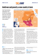 South Sudan: A new country is born