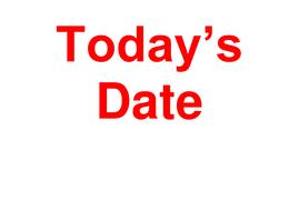 Calendar Date.Today S Date A Short Date Calendar For Display