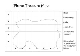 Simple Treasure Map Templatedoc