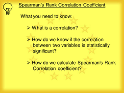 Spearman Rank Correlation Coefficient.ppt