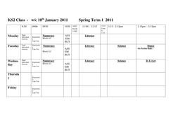 Blank week timetable by emmer88beetle teaching resources for Blank revision timetable template