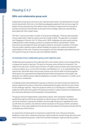 Collaborative Teaching Methods Pdf ~ Seal collaborative group work secondary by behaviour