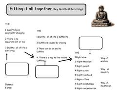 Buddhism Worksheets- life of Buddha/meditation by mzrmarx ...