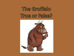the Gruffalo true or false.pptx