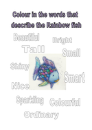 colour the words that describe the rainbow fish.docx