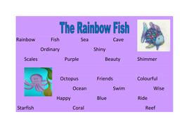 the rainbow fish word mat.docx