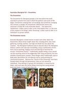 Australian Aboriginal Art – Dreamtime.docx